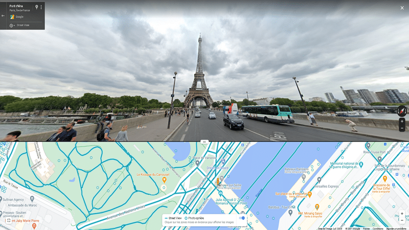 Street View sur PC - William ZIMMER / Tom's Guide France