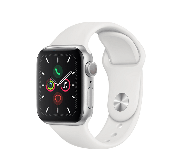 Image 1 : La montre connectée Apple Watch Series 5 chute à moins de 300 €