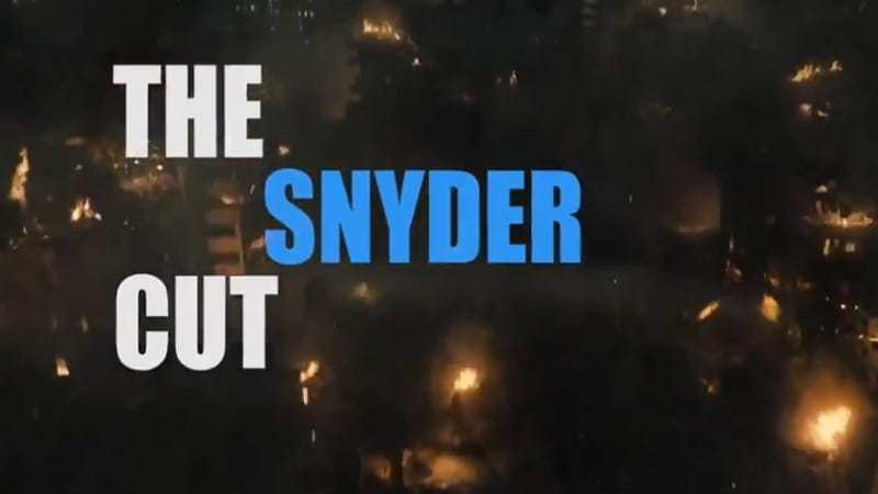 Le Snyder Cut version générique du SNL