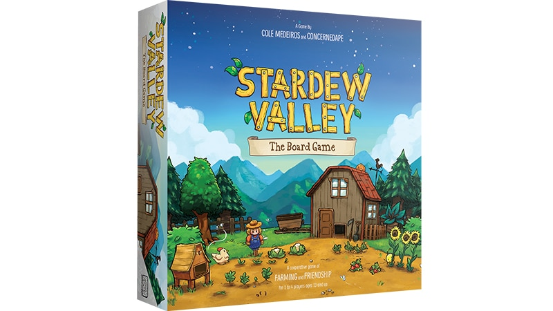 La boîte de Stardew Valley : The Board Game