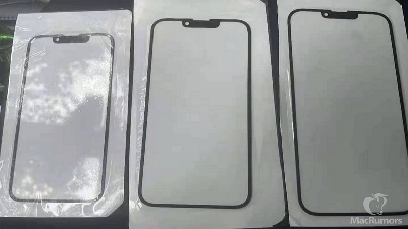 iPhone 13 vitre avant - MacRumors