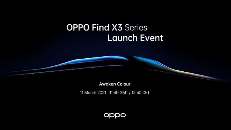 OPPO Find X3 Series Event - OPPO