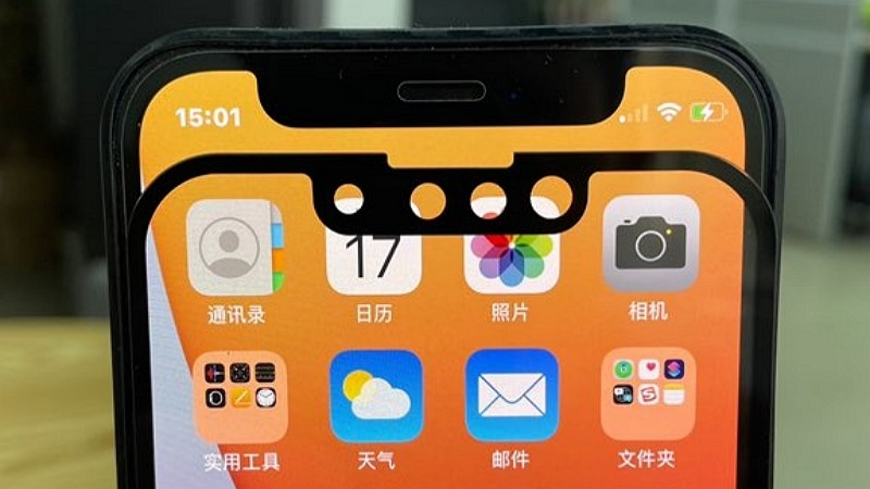 iphone 13 encoche - IPhone 13: new images compare its notch to that of the iPhone 12 - tom's guide
