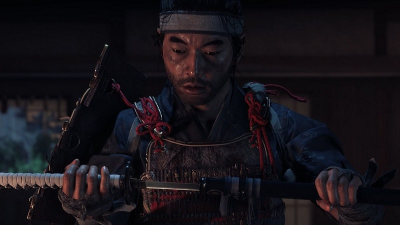 Ghost of Tsushima sur PS4 Pro