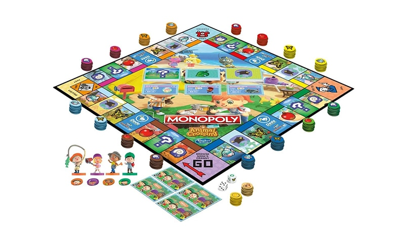 Le Monopoly d'Animal Crossing : New Horizons