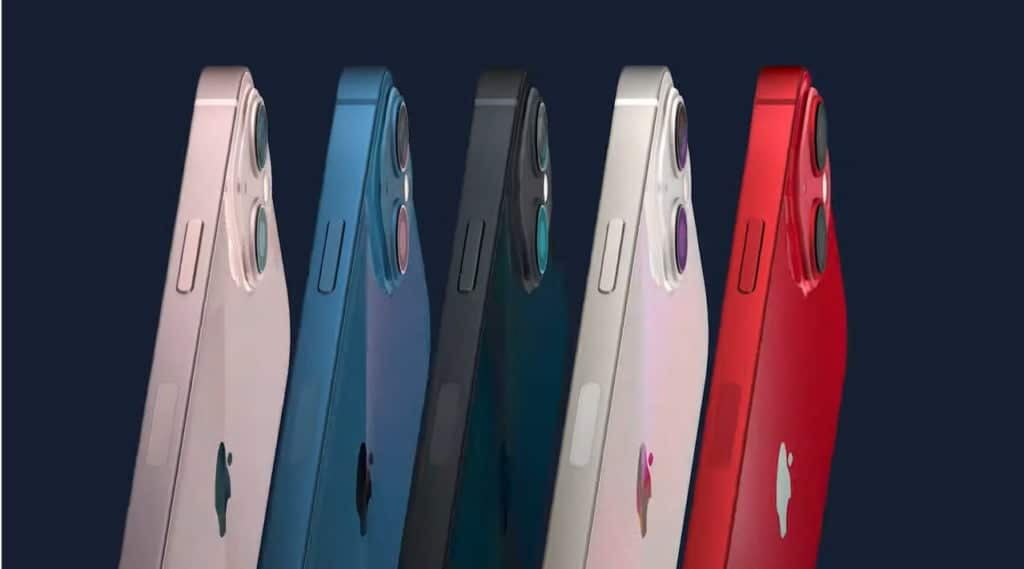iphone 13 couleur