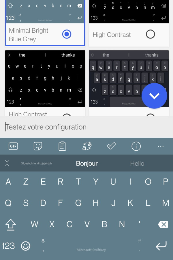clavier android swift keyboard