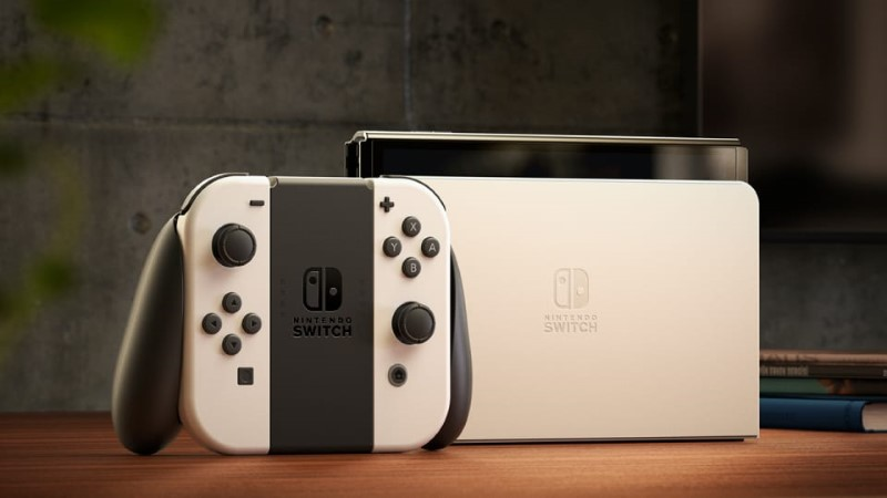 Nouvelle Nintendo Switch OLED