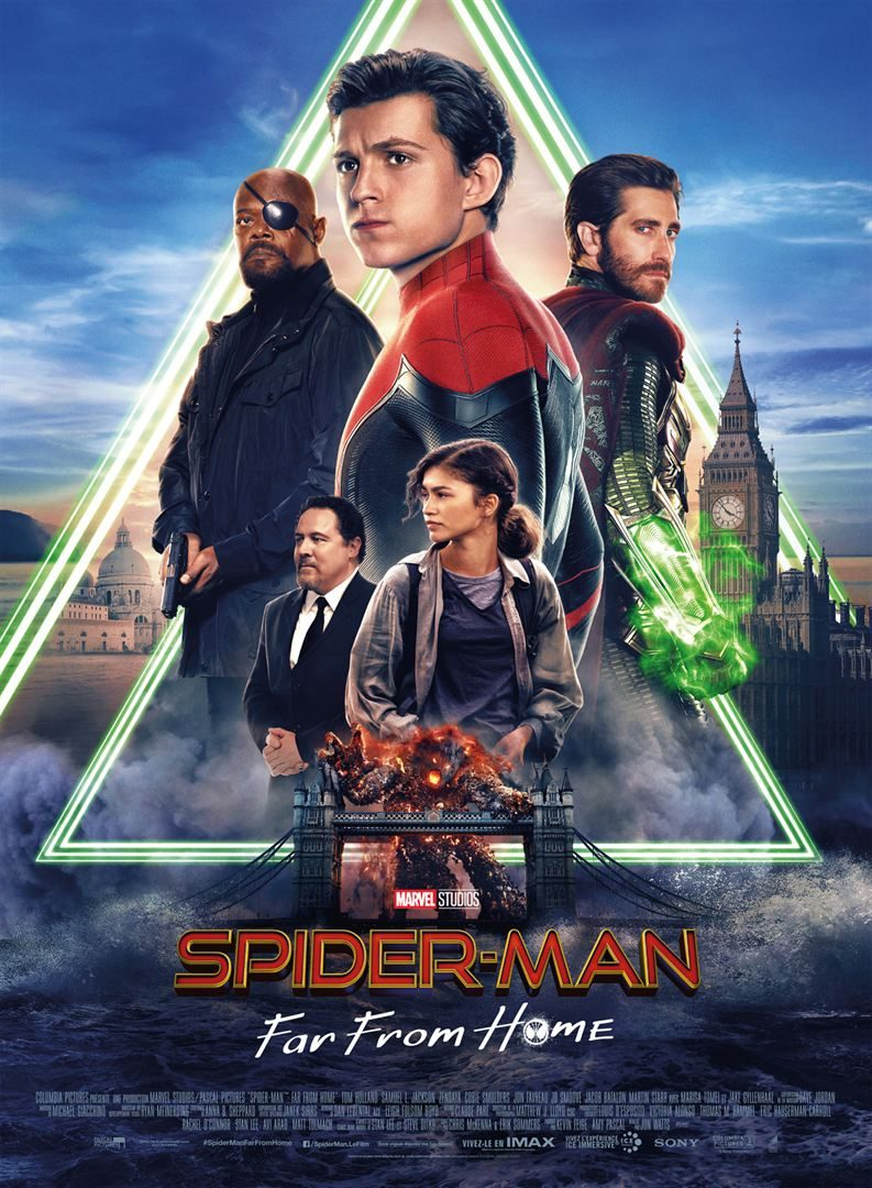 Image 1 : Spider-Man far from Home : la Geek Critique du dernier Marvel de l'année