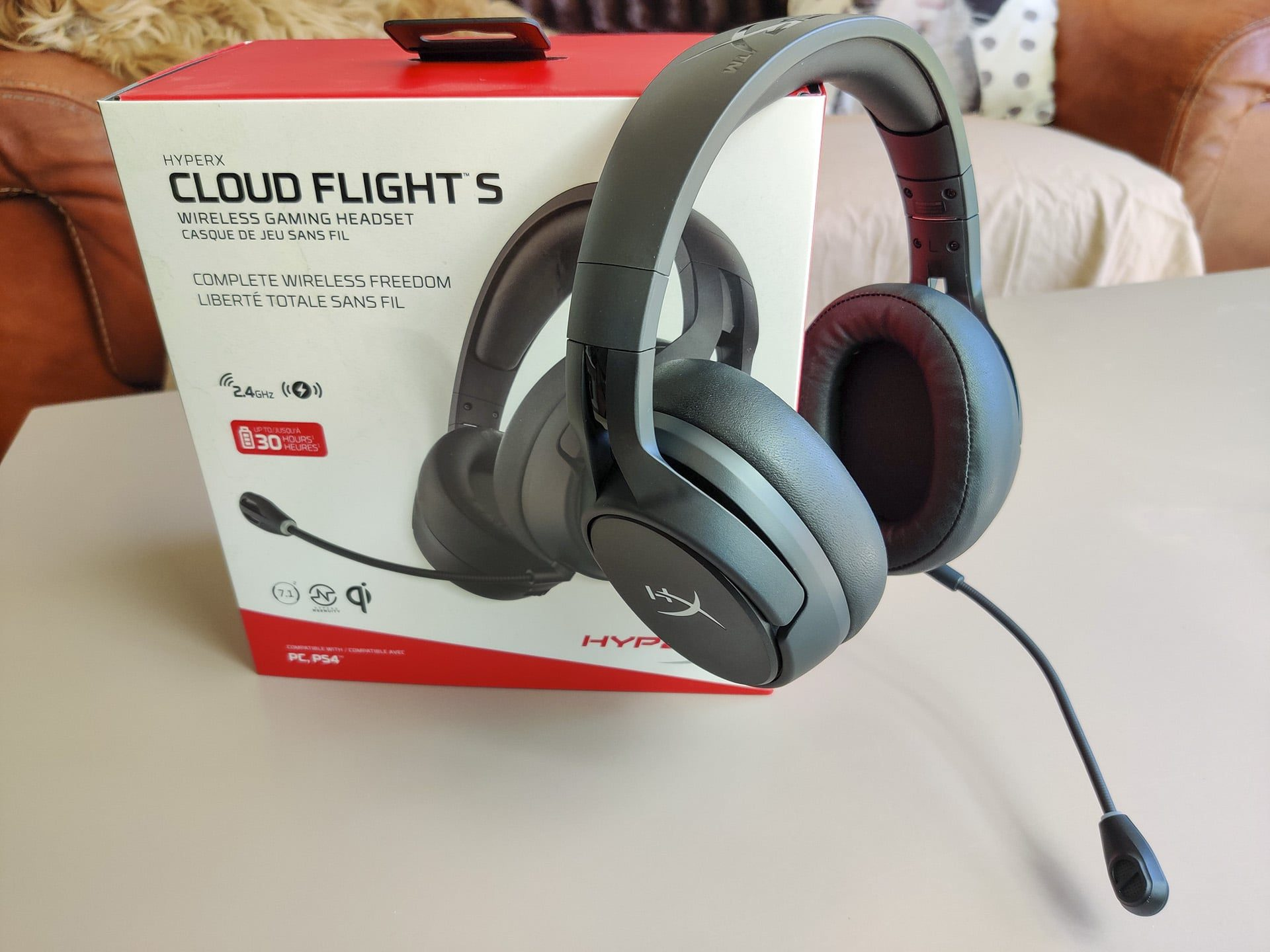 Image 1 : Test : HyperX Cloud Flight S, que vaut ce casque sans fil à recharge par induction ?