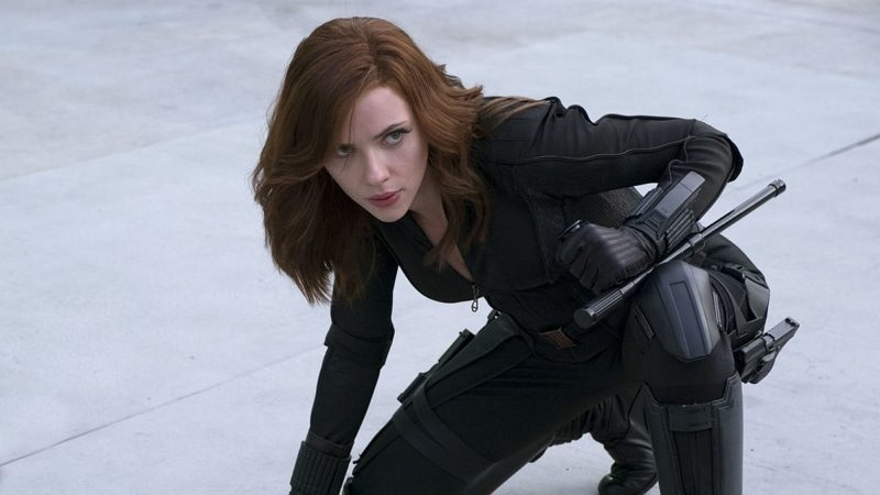 Scarlett Johansson dans Black Widow