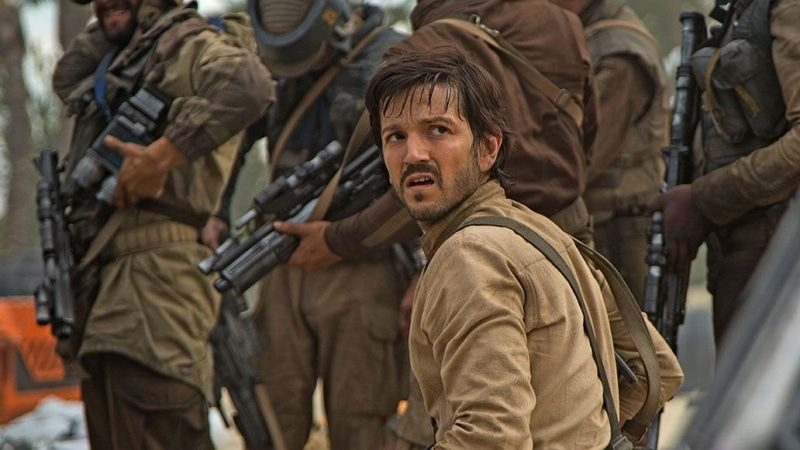 L'acteur Diego Luna dans le film Rogue One