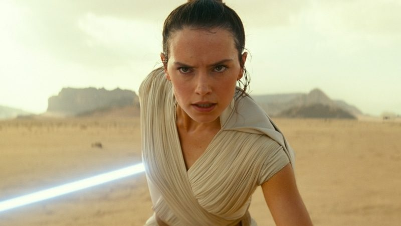 Daisy Ridley dans L'Ascension de Skywalker