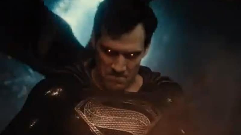 Superman dans le Snyder Cut de Justice League