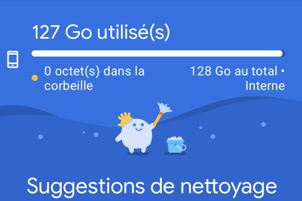 nettoyer android