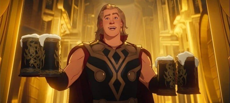 Thor What if - Credits Marvel