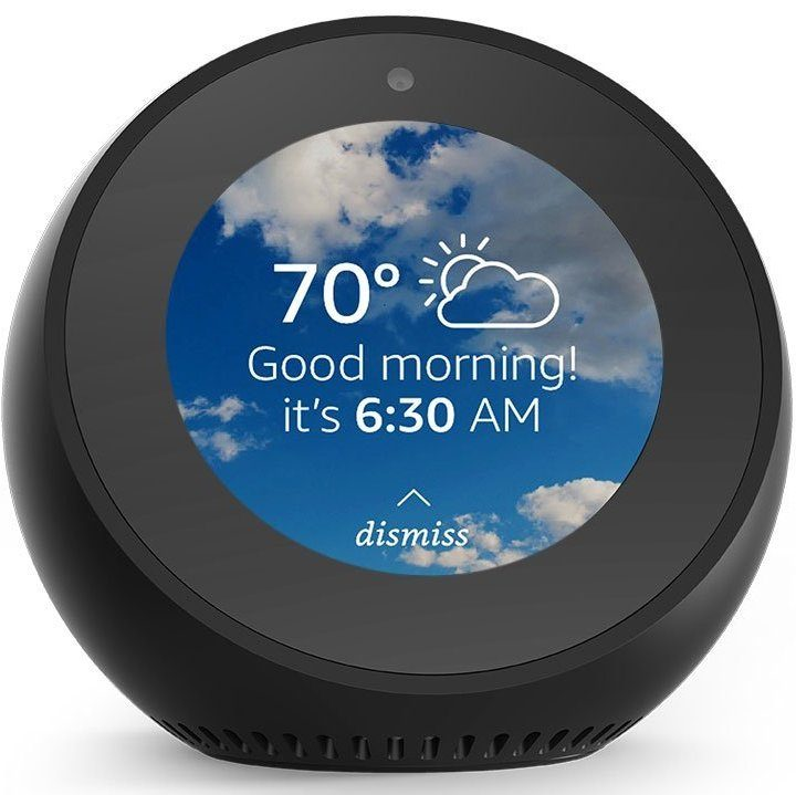 Image 1 : [Test] Echo Spot : que vaut le réveil intelligent d'Amazon ?