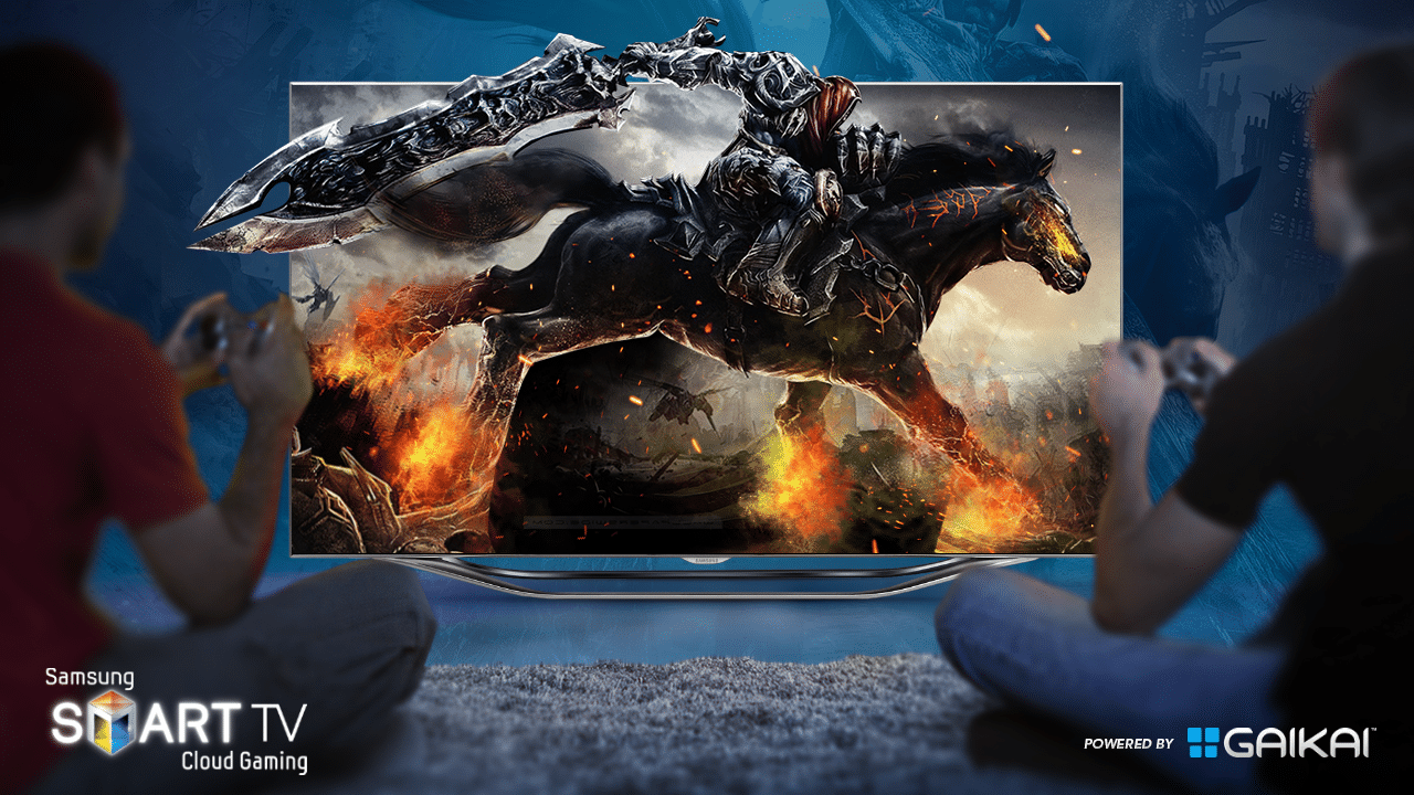 Gaikai Samsung smart TV cloud gaming